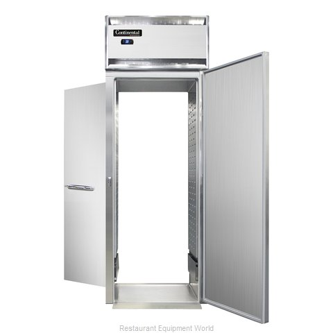 Continental Refrigerator DL1RI-SA-RT-E Refrigerator, Roll-Thru