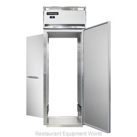 Continental Refrigerator DL1RI-SS-RT-E Refrigerator, Roll-Thru