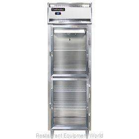 Continental Refrigerator DL1RS-SA-GD-HD Refrigerator, Reach-In