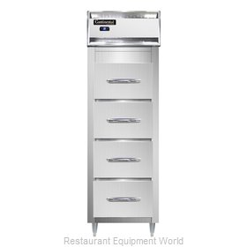 Continental Refrigerator DL1RS-SS-F Refrigerator, Fish / Poultry File