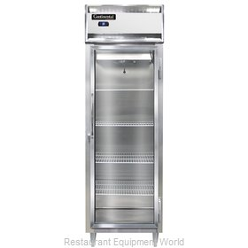 Continental Refrigerator DL1RS-SS-GD Refrigerator, Reach-In