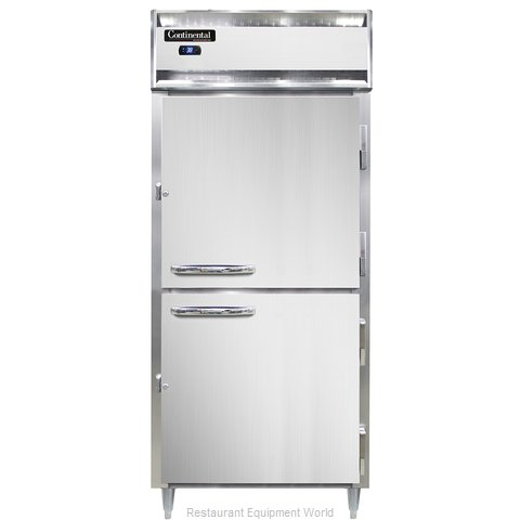 Continental Refrigerator DL1RX-SS-PT-HD Refrigerator, Pass-Thru