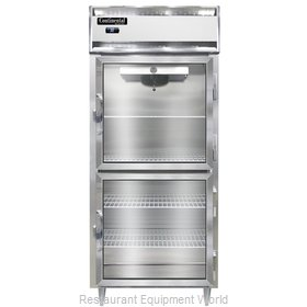 Continental Refrigerator DL1RXS-GD-HD Refrigerator, Reach-In