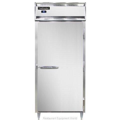 Continental Refrigerator DL1RXS Refrigerator, Reach-In