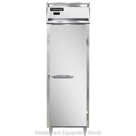 Continental Refrigerator DL1W-SS Heated Cabinet, Reach-In