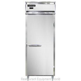 Continental Refrigerator DL1WE-SS-PT Heated Cabinet, Pass-Thru