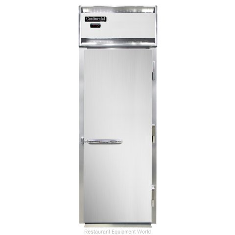 Continental Refrigerator DL1WI-E Heated Cabinet, Roll-In