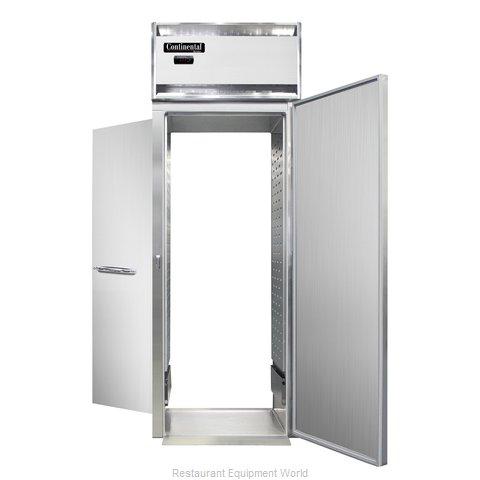 Continental Refrigerator DL1WI-SS-RT-E Heated Cabinet, Roll-Thru