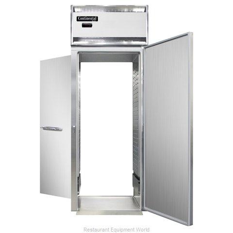 Continental Refrigerator DL1WI-SS-RT Heated Cabinet, Roll-Thru
