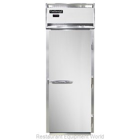 Continental Refrigerator DL1WI-SS Heated Cabinet, Roll-In