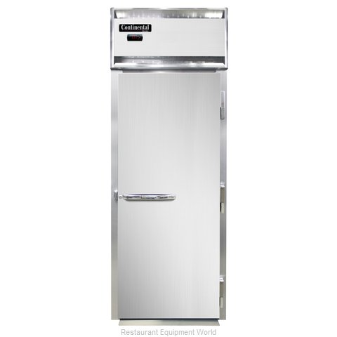 Continental Refrigerator DL1WI Heated Cabinet, Roll-In