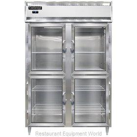 Continental Refrigerator DL2F-SA-GD-HD Freezer, Reach-In