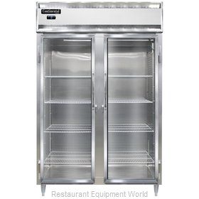 Continental Refrigerator DL2F-SS-GD Freezer, Reach-In