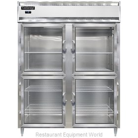 Continental Refrigerator DL2FE-SA-GD-HD Freezer, Reach-In