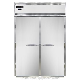 Continental Refrigerator DL2FI-SS-E Freezer, Roll-In