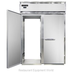 Continental Refrigerator DL2FI-SS-RT Freezer, Roll-Thru