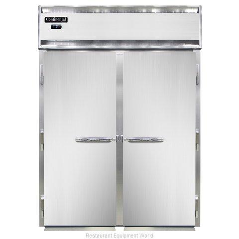 Continental Refrigerator DL2FI-SS Freezer, Roll-In