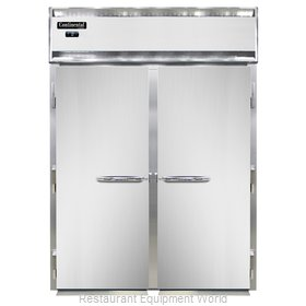 Continental Refrigerator DL2FI-SS Freezer, Roll-In