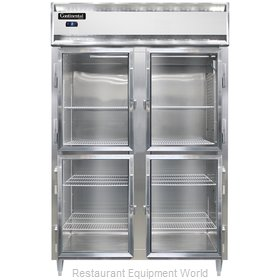 Continental Refrigerator DL2FS-SS-GD-HD Freezer, Reach-In