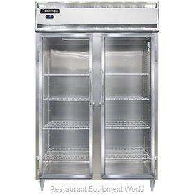 Continental Refrigerator DL2FS-SS-GD Freezer, Reach-In