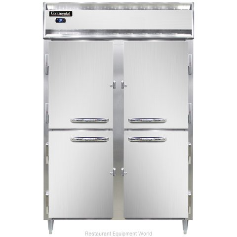 Continental Refrigerator DL2R-HD Refrigerator, Reach-In (Magnified)