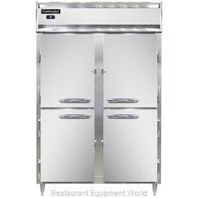 Continental Refrigerator DL2R-PT-HD Refrigerator, Pass-Thru
