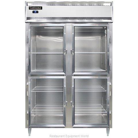 Continental Refrigerator DL2R-SA-GD-HD Refrigerator, Reach-In