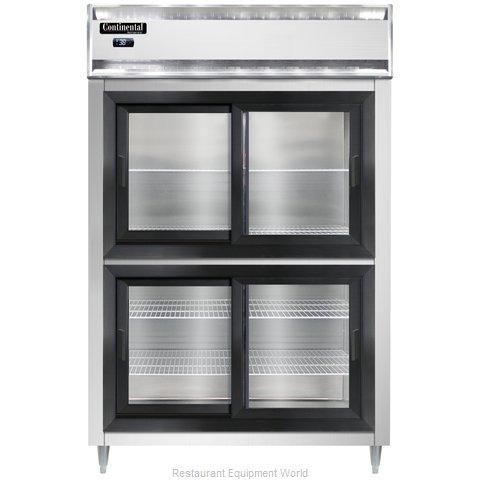 Continental Refrigerator DL2R-SGD-HD Refrigerator, Reach-In