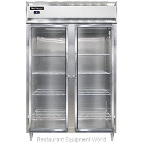 Continental Refrigerator DL2R-SS-GD Refrigerator, Reach-In