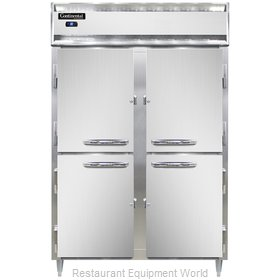 Continental Refrigerator DL2R-SS-HD Refrigerator, Reach-In