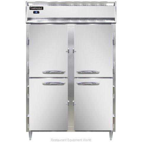 Continental Refrigerator DL2R-SS-PT-HD Refrigerator, Pass-Thru