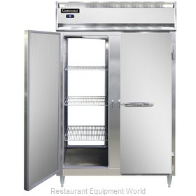 Continental Refrigerator DL2R-SS-PT Refrigerator, Pass-Thru