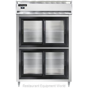 Continental Refrigerator DL2R-SS-SGD-HD Refrigerator, Reach-In