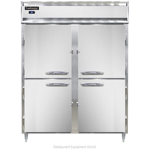 Continental Refrigerator DL2RE-PT-HD Refrigerator, Pass-Thru