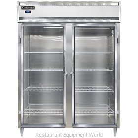 Continental Refrigerator DL2RE-SA-GD Refrigerator, Reach-In