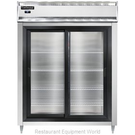 Continental Refrigerator DL2RE-SGD Refrigerator, Reach-In