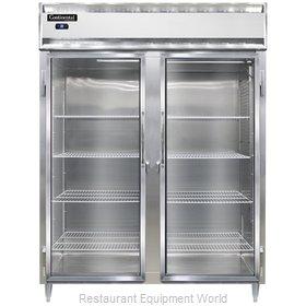 Continental Refrigerator DL2RE-SS-GD Refrigerator, Reach-In