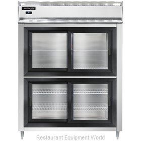 Continental Refrigerator DL2RE-SS-SGD-HD Refrigerator, Reach-In