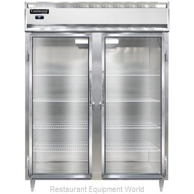 Continental Refrigerator DL2RES-GD Refrigerator, Reach-In