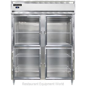 Continental Refrigerator DL2RES-SA-GD-HD Refrigerator, Reach-In
