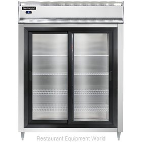Continental Refrigerator DL2RES-SA-SGD Refrigerator, Reach-In
