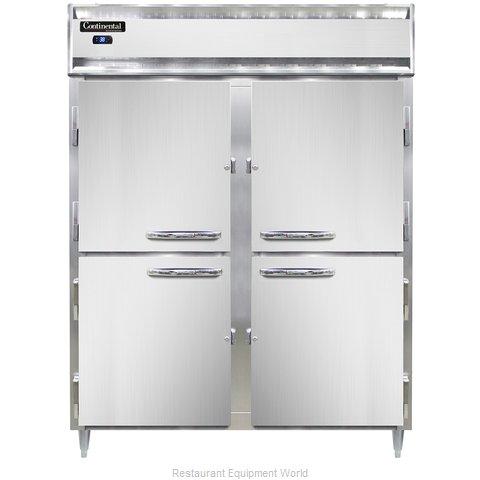 Continental Refrigerator DL2RES-SS-HD Refrigerator, Reach-In