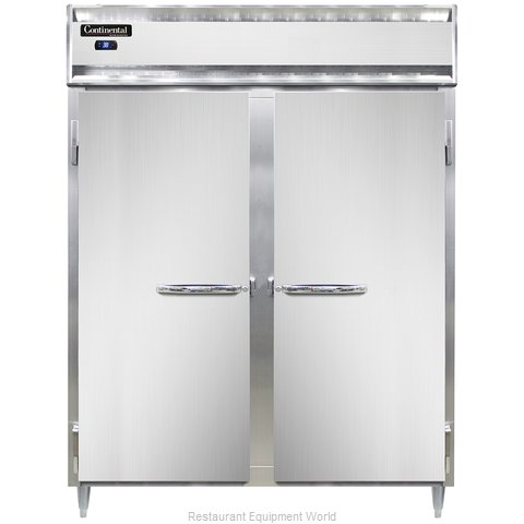 Continental Refrigerator DL2RES-SS Refrigerator, Reach-In