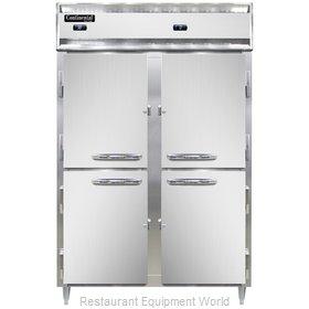 Continental Refrigerator DL2RF-SS-PT-HD Refrigerator Freezer, Pass-Thru