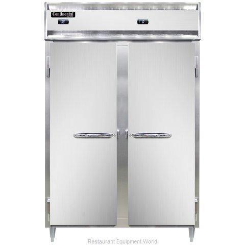 Continental Refrigerator DL2RF-SS Refrigerator Freezer, Reach-In