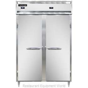 Continental Refrigerator DL2RF Refrigerator Freezer, Reach-In