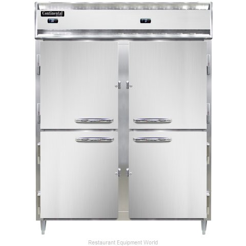 Continental Refrigerator DL2RFE-HD Refrigerator Freezer, Reach-In