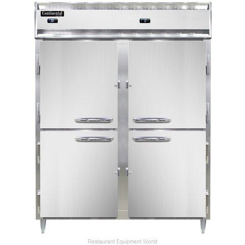 Continental Refrigerator DL2RFE-PT-HD Refrigerator Freezer, Pass-Thru