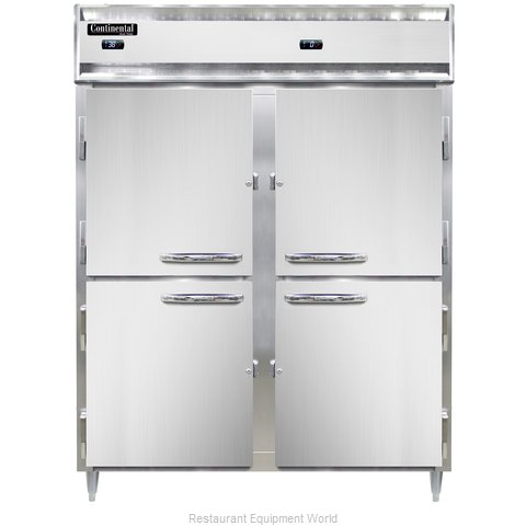 Continental Refrigerator DL2RFE-SA-HD Refrigerator Freezer, Reach-In