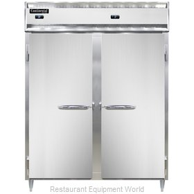 Continental Refrigerator DL2RFE-SA Refrigerator Freezer, Reach-In